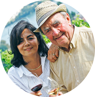 Christine et Georges VERNAY